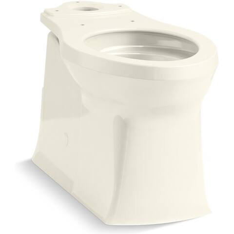 Kohler K-4144 Corbelle Elongated Comfort Height Toilet Bowl Only with ReadyLock and Revolution 360 Flushing