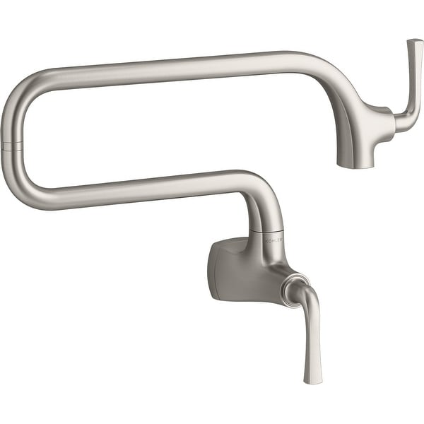 Kohler K-22066 Graze 3.2 GPM Wall Mounted Single Hole Pot Filler. Opens flyout.