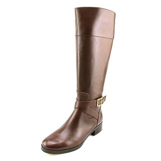 Michael Michael Kors Bryce Tall Boot   Round Toe Leather  Knee High Boot