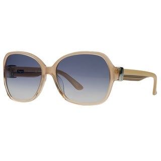 Salvatore Ferragamo SF650/S 811 Orange Gradient Square Sunglasses