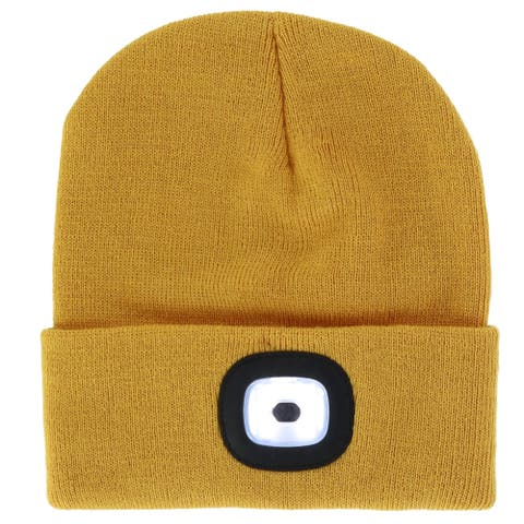 7af3961c Yellow, Beanie Hats | Find Great Accessories Deals Shopping at Overstock