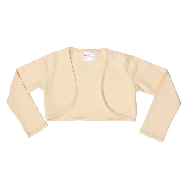 Ooh! La La! Couture Baby Girls Champagne Long Sleeve Elegant Shrug