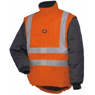 Helly Hansen Workwear Mens Potsdam Lining - En471 Orange/Black - 3XL