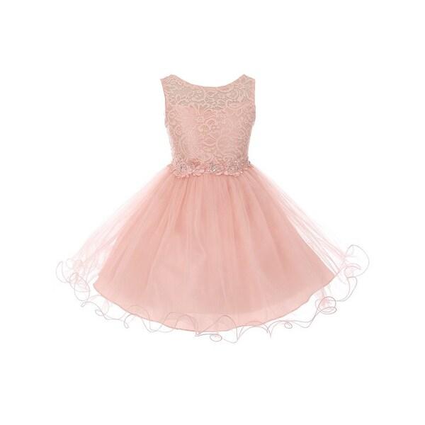 Blush Colored Flower Girl Dresses