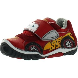 Stride Rite Boys' Srt Lightning Mcqueen Shoes - Red - 4 m us toddler