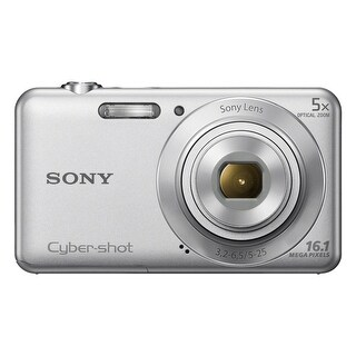 Sony Cyber-shot DSC-W710 16.1 Megapixel Compact Camera - Silver - (Refurbished)