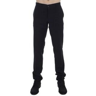 Dolce & Gabbana Dolce & Gabbana Black Striped Dress Formal Pants