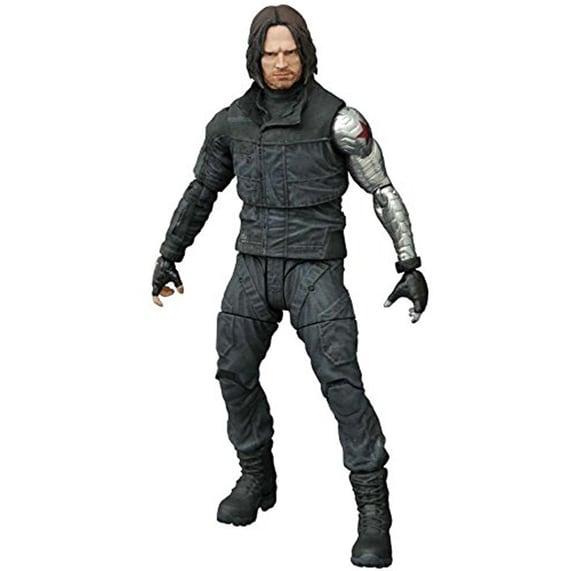 "Captain America: Civil War 7"" Marvel Select Action Figure: Winter Soldier - multi"