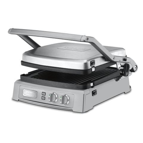 Cuisinart GR-150 Griddler Deluxe (Brushed Stainless)