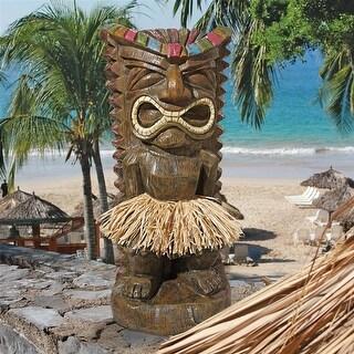 Design Toscano Pau Hana Hawaiian Tiki Totem Statue
