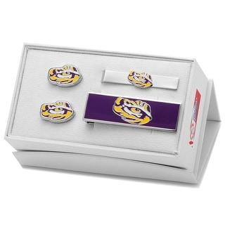 LSU Tiger's Eye 3-Piece Gift Set - Silver