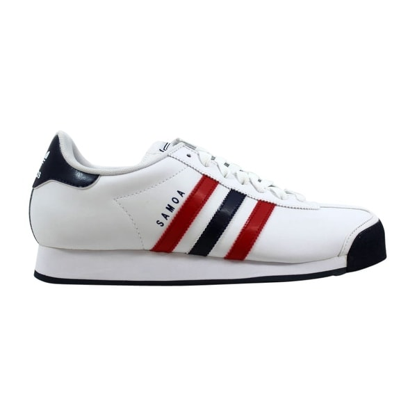 lowest price a446b d6c78 Adidas Men  x27 s Samoa White Scarlet Red-Navy Blue G56275