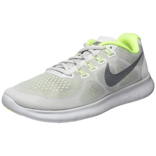 9b4e0d35003a Shop Nike Womens Nike flex 2017 RN Fabric Low Top Lace Up Running ...