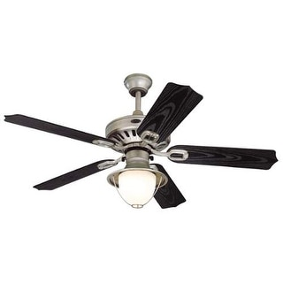 """Westinghouse 7877965 Lafayette 52"""" 5 Blade Hanging Indoor Ceiling Fan with Rever"""