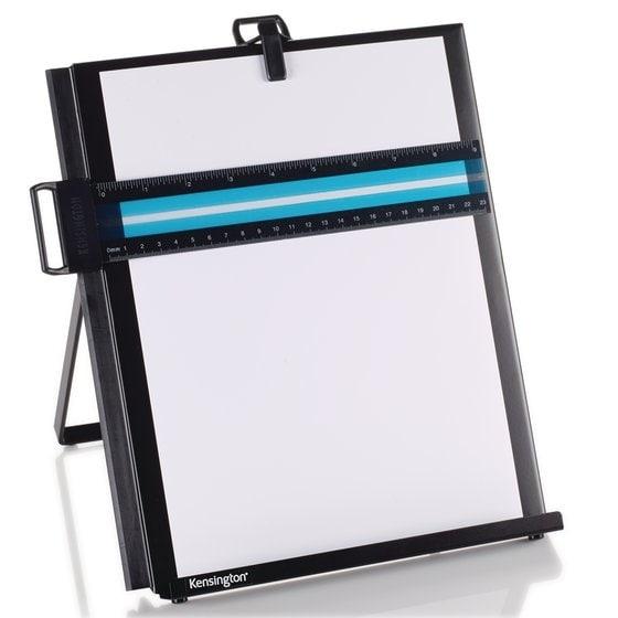 Kensington Computer - Metal Letter Size Copyholder-Black