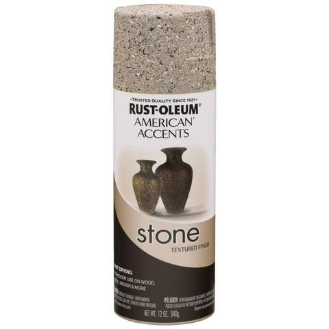American Accents 7995830 Stone Creations Spray Paint, 12 Oz, Pebble