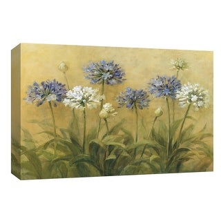 """PTM Images 9-153894  PTM Canvas Collection 8"""" x 10"""" - """"Agapanthus"""" Giclee Flowers Art Print on Canvas"""