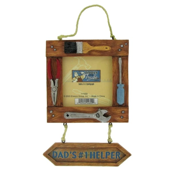 Enesco Mr. Fix It Dad's #1 Helper Picture Frame