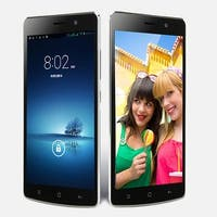 Indigi® Lightning Fast V19 Factory Unlocked 3G GSM+CDMA 5.5inch HD Android 4.4 KitKat Dual-Core Dual-Sim Smartphone (Black)