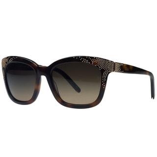 Chloe CE626/S 219 Dark Tortoise Cateye Sunglasses