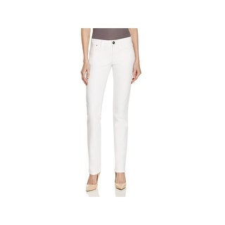 DL1961 Womens Coco Straight Leg Jeans Curvy Fit Low-Rise