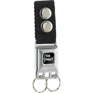 The Sandlot Full Color Black White Keychain