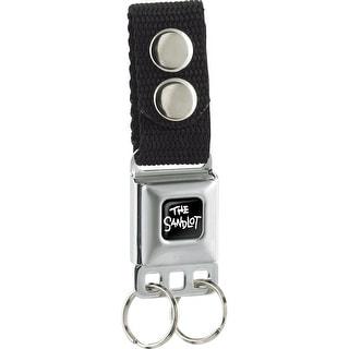 The Sandlot Full Color Black White Keychain  One Size