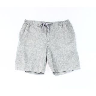 Tasso Elba NEW Gray Mens Size XL Linen Drawstring Four-Pocket Shorts|https://ak1.ostkcdn.com/images/products/is/images/direct/ed5ffbede6413cea99e5b9eb1b1dc9210204cef1/Tasso-Elba-NEW-Gray-Mens-Size-XL-Linen-Drawstring-Four-Pocket-Shorts.jpg?impolicy=medium