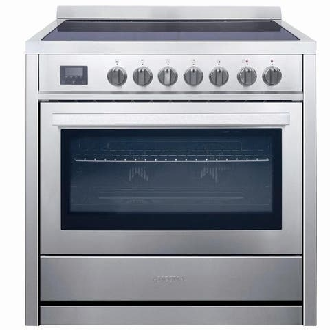 Ancona 36 in. Freestanding Electric Range Convection Oven Stainless