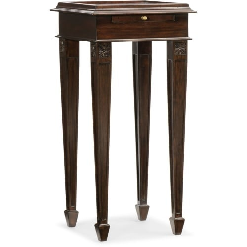 Furniture 5544 50001 Dkw 14 Inch Wide Rubberwood Accent Table