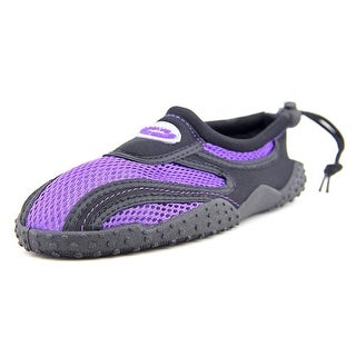 Shoe Shack 5998 Women Round Toe Canvas Purple Water Shoe