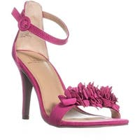 MG35 Blossom Ankle Strap Dress Sandals, Fuchsia