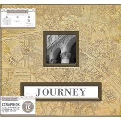 "Vintage Map - K&Company Frame-A-Name Post Bound Album 12""X12"""