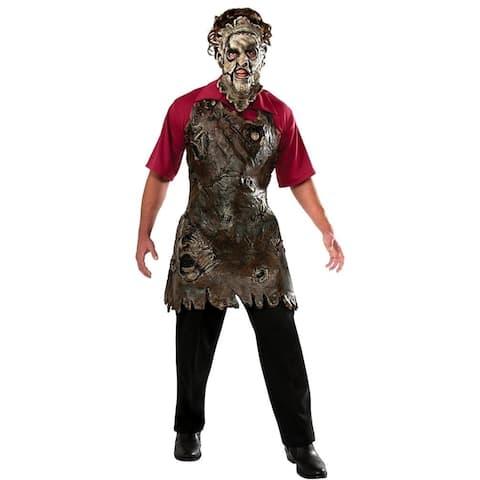 Texas Chainsaw Massacre Leatherface Butcher's Apron Adult size O/S Costume Rubie's
