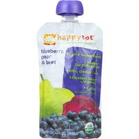 Happy Family - Stage 4 Baby Food Organic Blueberry Pear Beet ( 16 - 4.22 OZ)