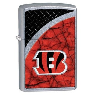 Cincinnati Bengals NFL Logo Lighter on Rugged Street Chrome Finish