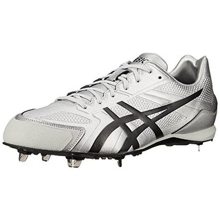 Asics Mens Base Burner Faux Leather Baseball Cleats