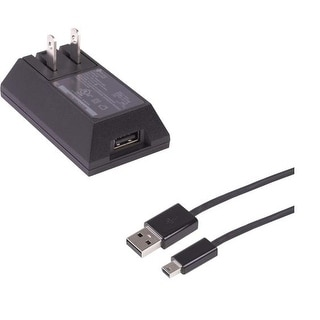 OEM HTC Universal Mini USB Travel Charger CNR5310 and Mini USB Data Cable DICU53