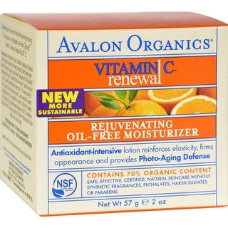 Avalon Organics - Rejuvenating Oil-Free Moisturizer With Vitamin C ( 1 - 2 FZ)