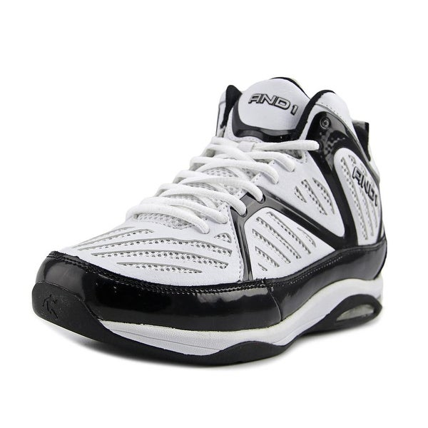 And1 Challenger Men Wht/Blk Basketball Shoes