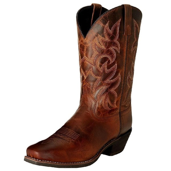 Laredo Western Boots Mens Classic Stitched Cowboy Rusted Earth