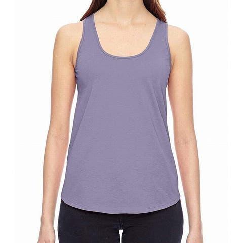 Alternative Purple Women's Size Small S Scoop-Neck Tank Top