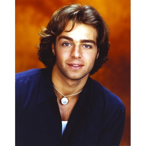 Shop Joey Lawrence Wearing A Blue Long Sleeves In A Close Up