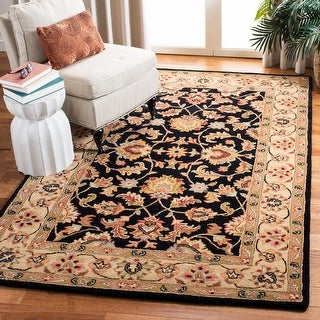 Link to Safavieh Handmade Heritage Arianna Traditional Oriental Wool Rug Similar Items in Transitional Rugs