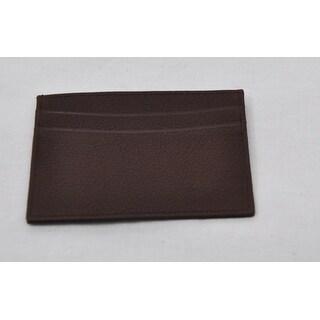 Trafalgar Mens Dark Brown Pass-Case Card Case Wallet NWOT