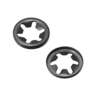 Starlock Washers M5.5x11.2 Internal Tooth Clips Fasteners Assortment Kit 100pcs