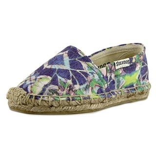 Soludos Original Espadrille Youth Round Toe Canvas Purple Espadrille