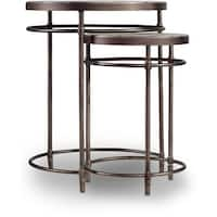 Hooker Furniture 5601-50001 19 Inch Diameter Acacia Wood Nesting Tables from the