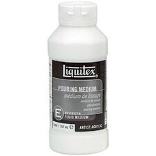 8Oz - Liquitex Pouring Acrylic Fluid Medium