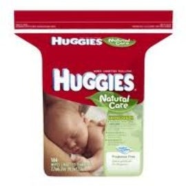 HUGGIES Natural Care Fragrance-Free Wipes 184 ea